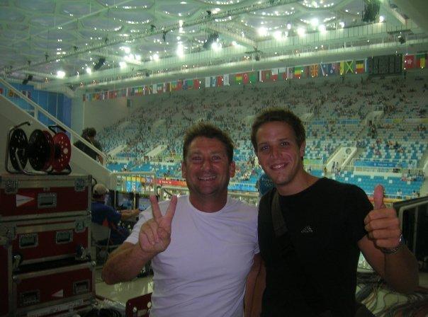 Bianchi (a sinistra) insieme a Gazzini