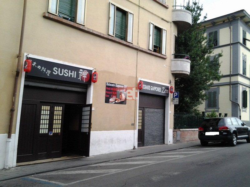 Il ristorante giapponese in via Leone Leoni