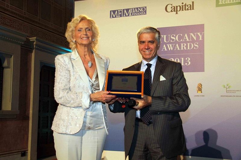 Graziella Buoncompagni premiata ai Tuscany Awards 2013